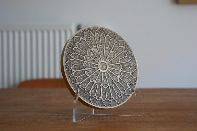 ノートルダム大聖堂の復興支援メダル